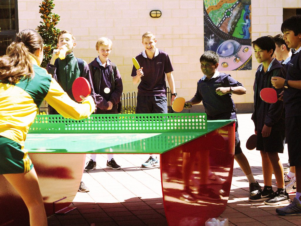 Outdoor Table Tennis by POPP