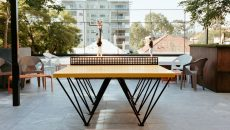 The ICON Outdoor Ping Pong table by POPP
